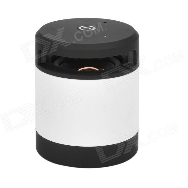N10 Bluetooth V3.0 MP3 Player w/ Microphone + TF for Iphone 4 / Samsung + More - White + Black