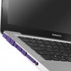Enkay Universal Tapones anti-polvo para MacBook Pro - Purple (9 piezas)