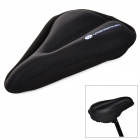 Yongruih ZD08 Replacement Silicone Covering Mountain / Road Cycling Saddle - Black