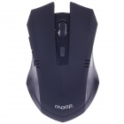 Raoopt C-88 Vogue 2.4G Rechargeable Wireless 1600dpi Optical Mouse w/ Mini USB Receiver - Black