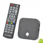 N2801 Quad Core Android 4.2 Google TV Player w / 1GB RAM / 8GB ROM / Wi-Fi / HDMI / TF - Schwarz