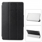 Stylish Protective PU Leather Case for Google Nexus 7 II - Black