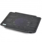 "COOLCOLD PRO1 Ultra Thin USB  Cooling Pad Fan Cooler for 15.6"" Laptop - Black"