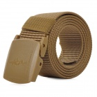 FREE SOLDIER FS-YD004 Durable Nylon + Plastic Tactic Outdoor Belt w/ Buckle - Brown