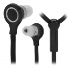 JTX 3.5mm In-Ear Earphone w/ Microphone + Volume Control for Nokia N95 / N76 / N81 + More - Black