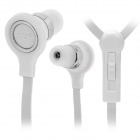 JTX 3.5mm In-Ear Earphone w/ Microphone + Volume Control for Nokia N95 / N76 / N81 + More - White