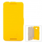 NILLKIN Fresh Series Protective Case for HTC Butterfly S 901e - Yellow