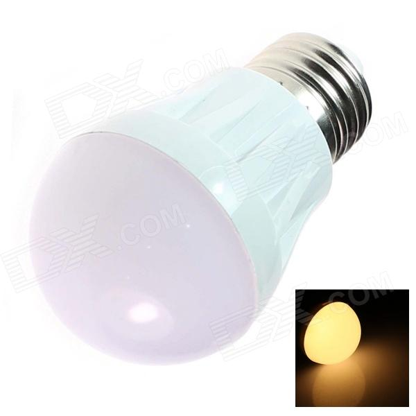 GCD S2 E27 3W 250lm 3500K 20-SMD 3014 LED Warm White Light Lamp Bulb - White (AC 220~240V)