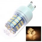 G9 4W 300lm 3500K 60-SMD 3528 LED Warm White Light Lamp Bulb - White (AC 220~240V)
