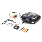 WLtoys V252 Mini 2.4GHz 4-CH R/C Aircraft w/ 6-Axis Gyroscope / Remote Controller - Black + Yellow