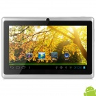 "MID-756 7"" Android 4.2 Tablet PC w/ 512MB RAM / 4GB ROM - Silver + Black"