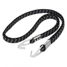 Yongruih SZ001 Durable Water Resistant Rubber Band Cargo Strap for Bicycle / Motorcycle - Black