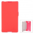 NILLKIN Fresh Series Protective Case for Sony S39h Xperia C - Red