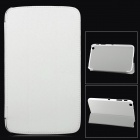 "Stylish Protective PU Leather Case for Samsung Galaxy Tab 3 T310 8.0"" - White"