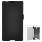 NILLKIN Fresh Series Protective Case for Sony S39h Xperia C - Black