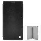 HOCO HX-L005 Protective PU Leather Case for Sony XL39h Xperia Z Ultra - Black