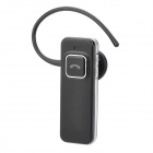 Blue Tiger V1 Wireless Bluetooth V2.1 Stereo Headset w/ Microphone for Cellphones - Black + Silver