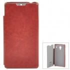 KALAIDENG England Series Protective PU Leather Case for Xiaomi Hongmi / Red Rice - Brown