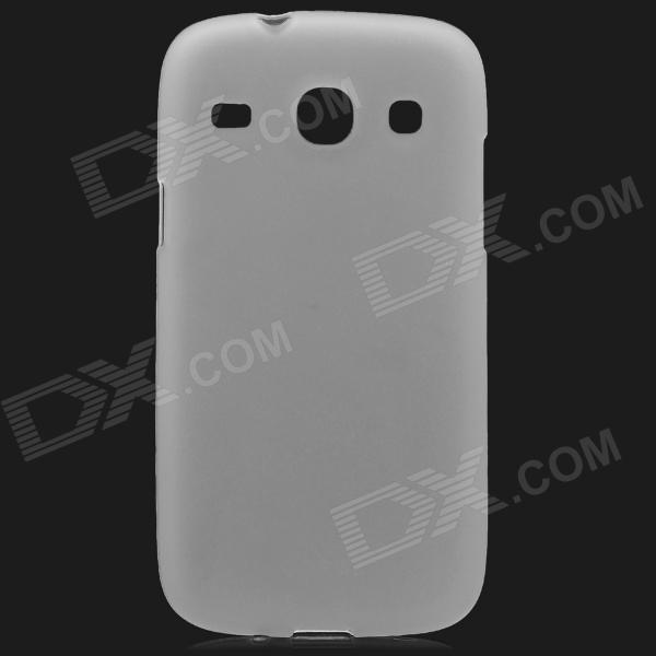 Protective TPU Back Case for Samsung i8260 - Translucent White стоимость