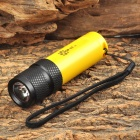 POPlite H1 120lm 1-Mode White Diving Flashlight Headlamp w/ CREE XR-E R2 - Yellow + Black (1x18650)