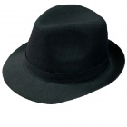 Gentleman Personality Hat - Black
