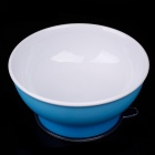 RI KANG RK-3800 Baby PP High Strength Suction Cup Bowl - Blue + White (150mL)