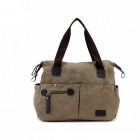 XiaoBanDeng 1006 Student Campus Style Single Shoulder Bag - Khaki