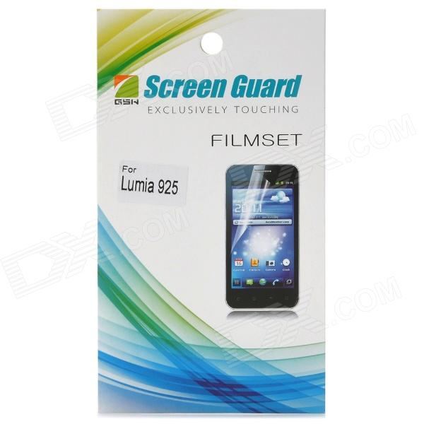 Protective Clear PE Screen Protector for Nokia 925 - Transparent