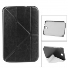 Transformable Protective PU Leather Case for Samsung N5100 - Brown