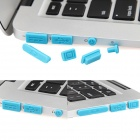 Enkay Universal Tapones anti-polvo para MacBook Air - Azul (7 PCS)