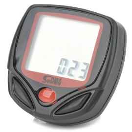 Sunding Electronic Bicycle Computer / Speedometer - Black