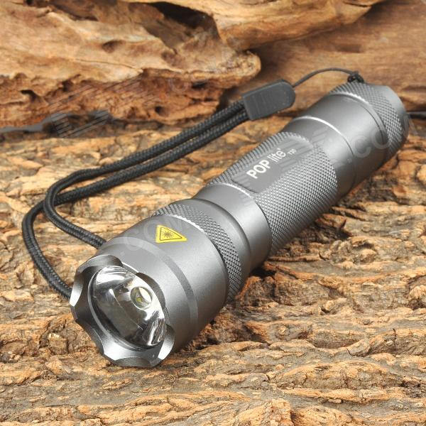 POP T30 LED 100lm Cool White Flashlight w/ Cree XR-E R2 - Deep Grey (3 x AAA) прогулочная коляска cool baby kdd 6699gb t fuchsia light grey