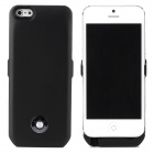 X6 External 3000mAh Power Battery Charger w/ Back Case for iPhone 5 - Black