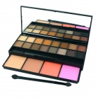 Professionelle kosmetische 20-Color Eye Shadow Palette w / Spiegel - Bunt