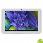 "Nextway M7 7"" Quad Core Android 4.1 Tablet PC w/ 1GB RAM / 8GB ROM / HDMI - Silver + White"