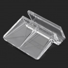 Aquarium Fish Tank Cover Board Holder Clip - Transparent (4 PCS)