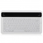 M5 Stylish Wireless Bluetooth V3.0 82-key Keyboard for Ipad 2 / 3 / 4 - White + Black