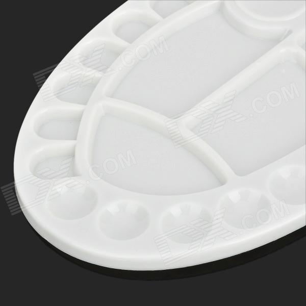 Plastic Paint Mixing Plate Color Palette White Free