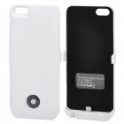 X6 External 3000mAh Power Battery Charger w/ Back Case for iPhone 5 - White
