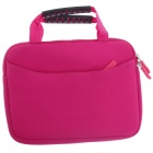 Fashionable Handbag Style Protective Neoprene Pouch Bag for Ipad MINI - Deep Pink