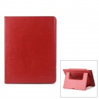 Neomemos Protective Leather Case w/ Stand for Ipad 2 / 3 - Red