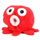 Funny Octopus Style Tissue Box Case - Red