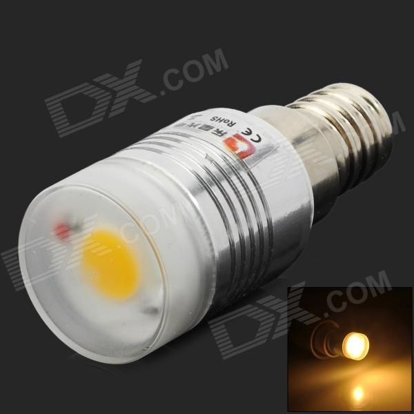 Lexing LX-YMD-039 E14 3W 300lm 3500K COB Warm White Light Bulb - White + Silver brother lx 3500