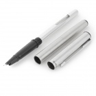 Hero 266 Students Steel + Iraurita Pens Set - Silver + Black (10 PCS)
