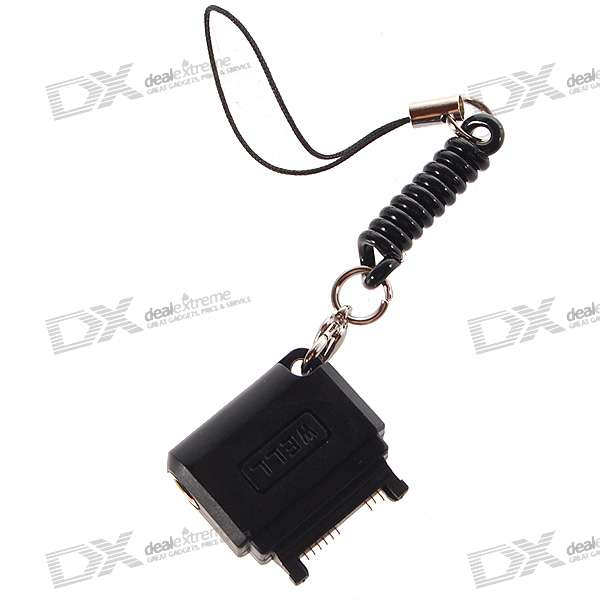 3.5mm Audio Adapter Keychain for Nokia 3250/6230/N70/N73