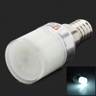 LeXing LX-YMD-032 3W 260lm 7500K 48-SMD 3014 LED White Light Bulb - White + Silver