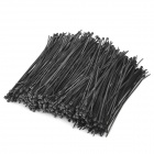 Self Locking Nylon + Plastic Cable Zip Ties - Black (1000 PCS)