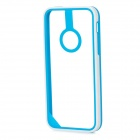 Baseus Protective PC + TPU Bumper Frame for Iphone 5C - White + Blue