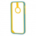 Baseus Protective PC + TPU Bumper Frame for Iphone 5C - Yellow + Blue