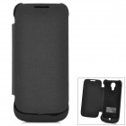 S4L External 3300mAh Power Battery Charger w/ Case for Samsung Galaxy S4 Mini i9190 - Black